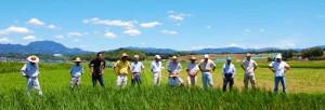 きくち村のお米の生産者さんたち